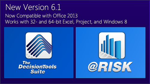 New Version 6.1 - Now Compatible with Office 2013; works with 32- and 64-bit Excel, Project, and Windows 8
